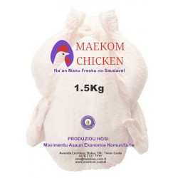 Whole Chicken - 1.5kg